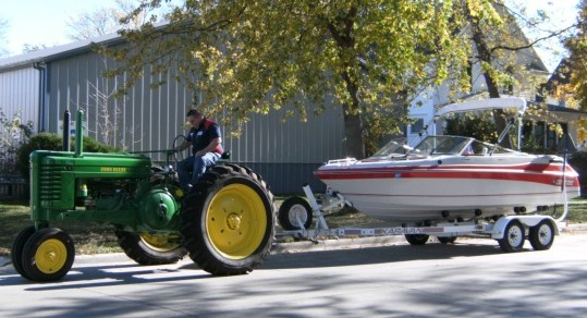 tractorwithboat